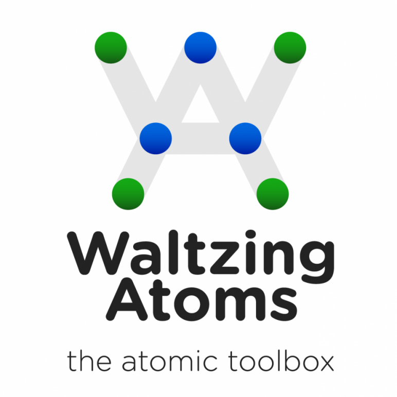 Waltzing Atoms Logo